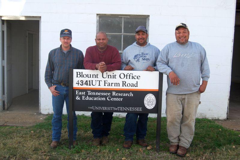 Personnel photo for the Blount Unit