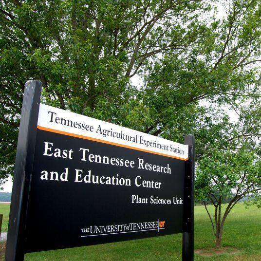Plant Sciences Unit Welcome Sign