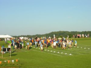 Participants at the Turf & Ornamental Field Day event